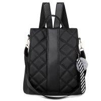 大容量防盗时尚旅行背包背挎两用双肩包KP9141