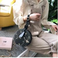 新款潮韩版百搭斜挎包蕾丝时尚手提包小圆包DK6139